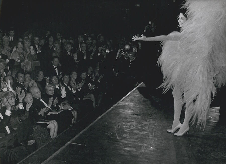 Retro Photograph - Zizi Jea Nmaire Stars In Olympia Show by Retro Images Archive