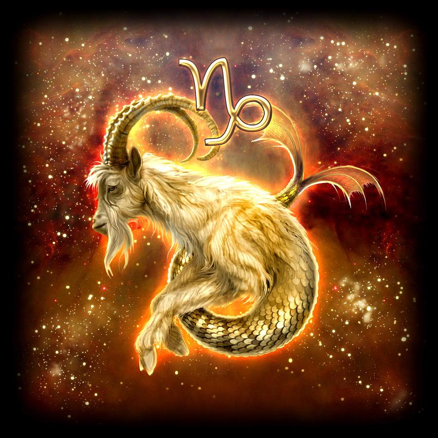 Approche des 12 Signes du Zodiaque en Astrologie ésotérique Zodiac-capricorn-ciro-marchetti