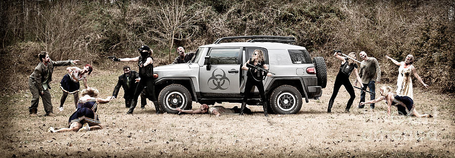 Zombie Apocalypse Photograph By Jt Photodesign