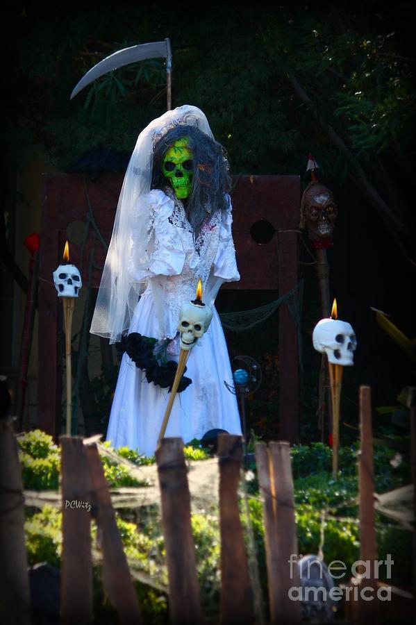 Zombie Bride Photograph - Zombie Bride by Patrick Witz
