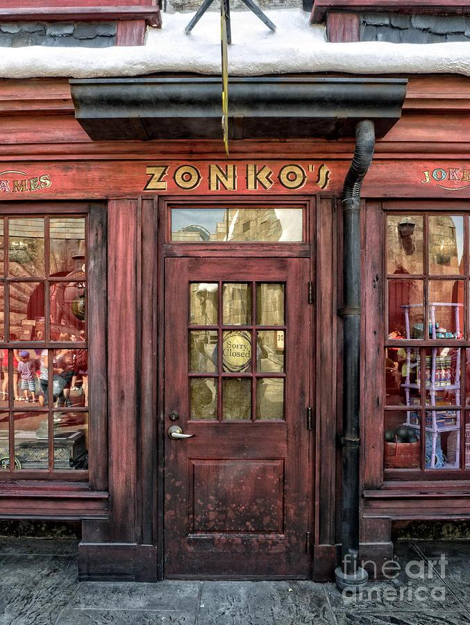 Zonkos Joke Shop Hogsmeade Photograph By Edward Fielding