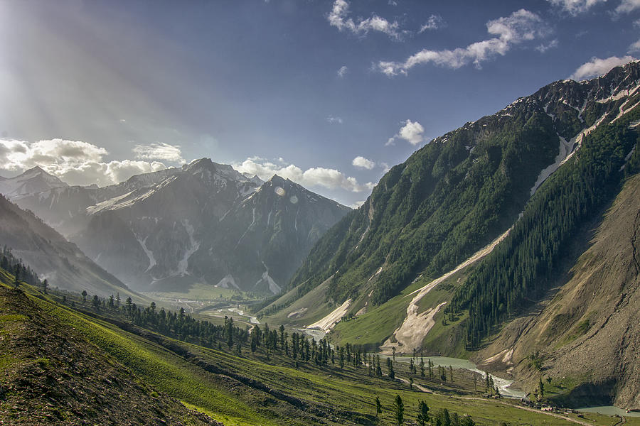 Zozila Pass In Ladakah, Jammu And Kashmir, India Photograph by Clicked by Avik Chakraborty