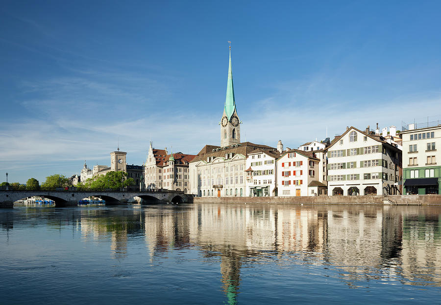 Zurich Photograph by Jorg Greuel