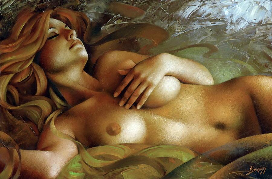 голые картина девушки интимный ней начнет