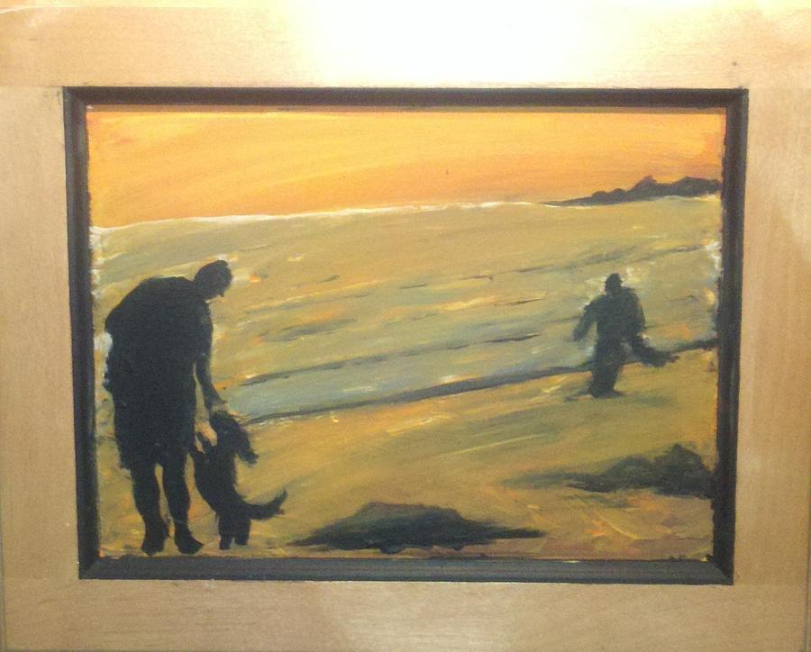 Beach scene Painting by Darnillious Designs