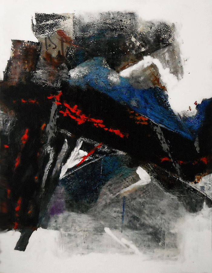 Bronze Paintings Painting -  Calligraphy 2 by Mohamed KHASSIF