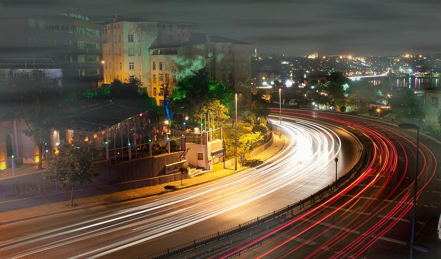 Light Photograph -  Curve Light by Okan YILMAZ