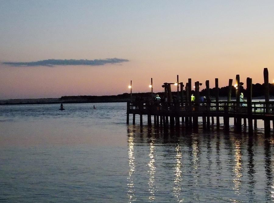 Ocean Photograph -  Evening Sunset by Angelika MacDonald