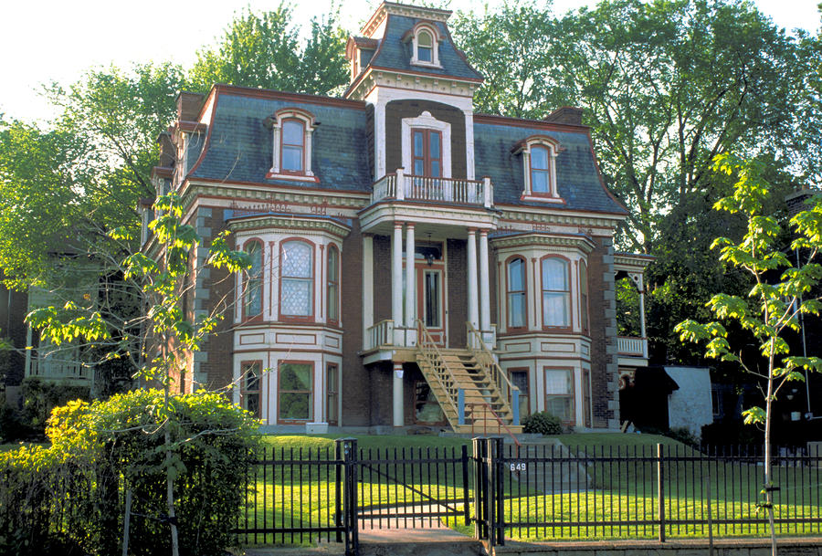 gracious victorian house in montreal photograph by carl