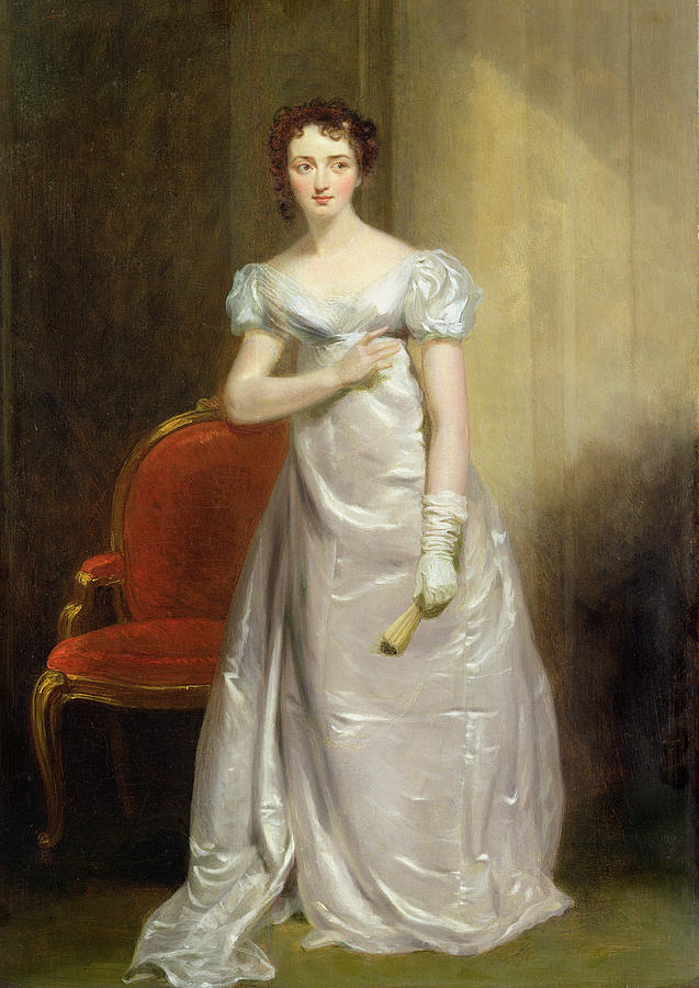 Harriet Painting -  Harriet Smithson As Miss Dorillon by George Clint