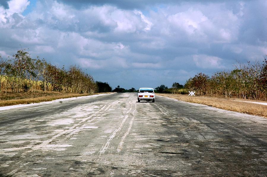 Cuba Photograph -  Highway To Havana by Renata Apanaviciene