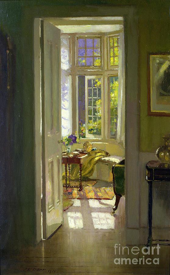 Vase Painting -  Interior Morning  by Patrick Williams Adam