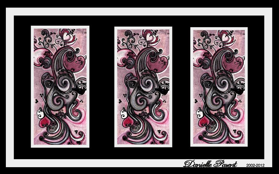 Doodles Drawings Drawing -  Linvincible Maternitude   by Danielle  Parent