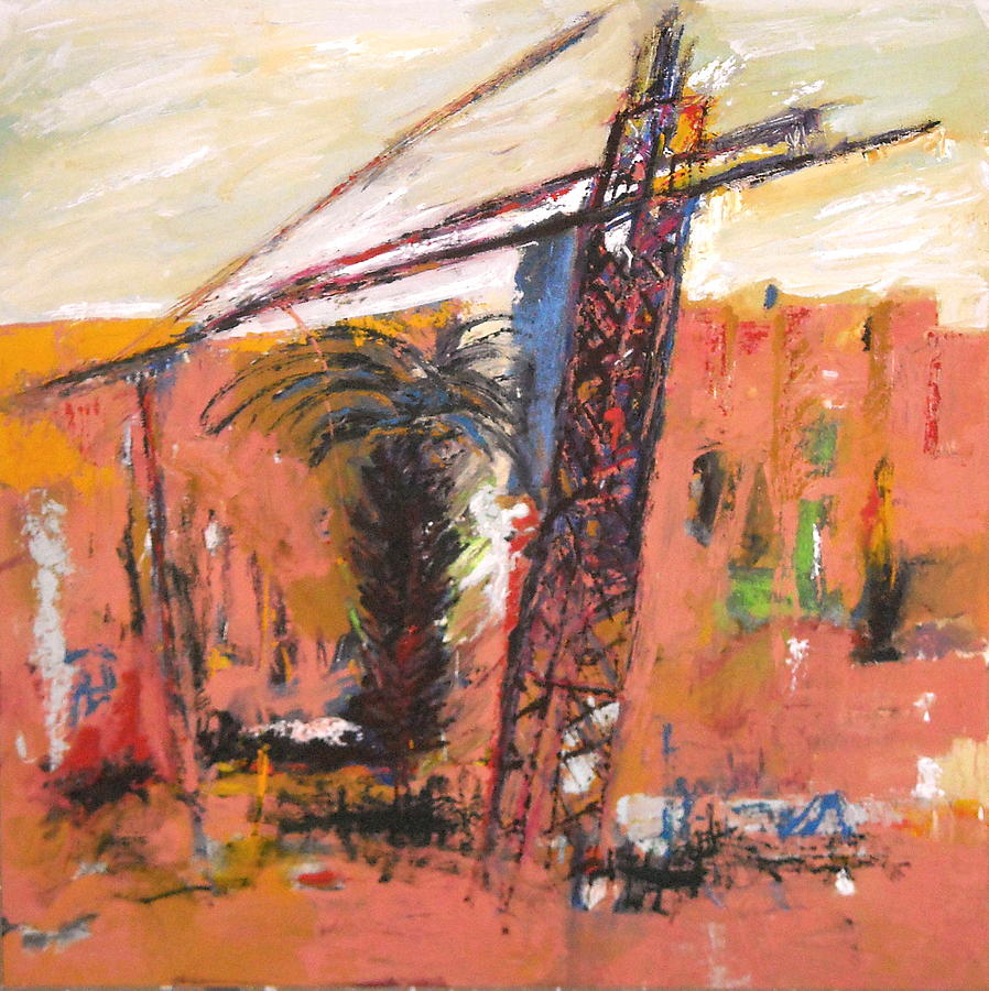 Marrakech 3 Painting by Mohamed KHASSIF