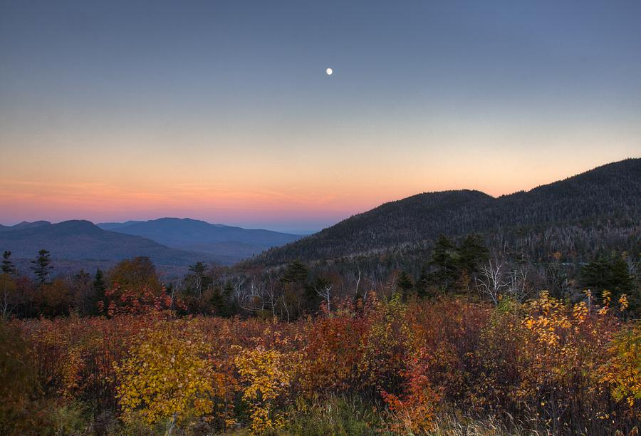 New Hampshire Photograph -  Mountain Twilight by Jim Neumann