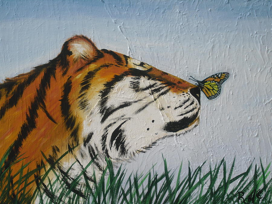Tiger Painting -  Tiger Colors by Mccormick  Arts
