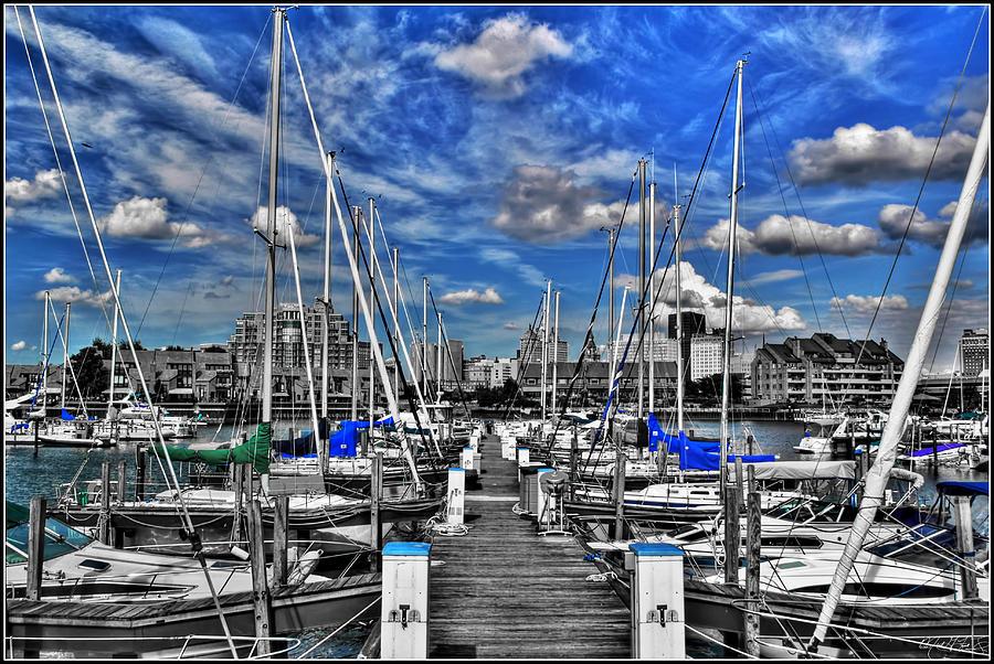 005sc On A Summers Day  Erie Basin Marina Summer Series Photograph