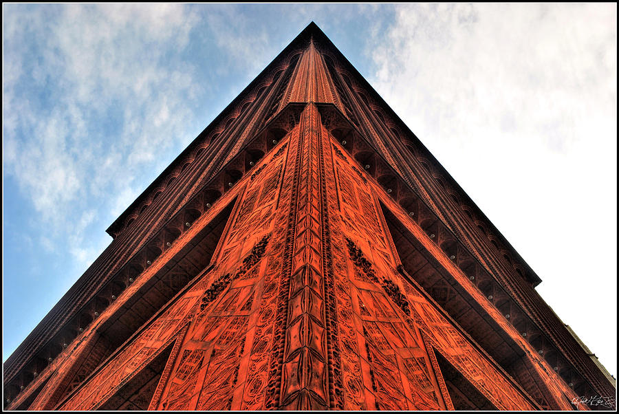 006 Guaranty Building Series Photograph by Michael Frank Jr