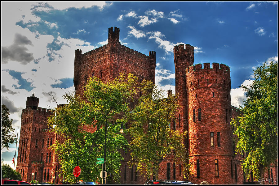 006 The 74th Regimental Armory In Buffalo New York Photograph by Michael Frank Jr