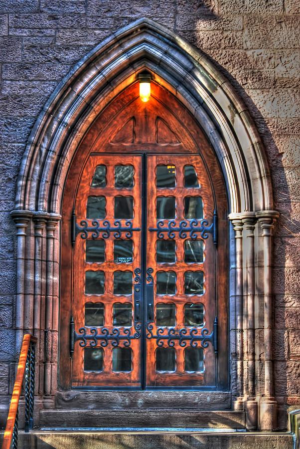 01 Church Doors Photograph By Michael Frank Jr