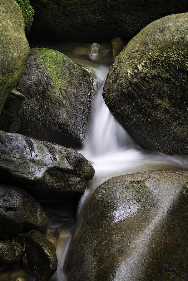 Arkansas Photograph - 0706-0138 Smith Creek Rocks by Randy Forrester