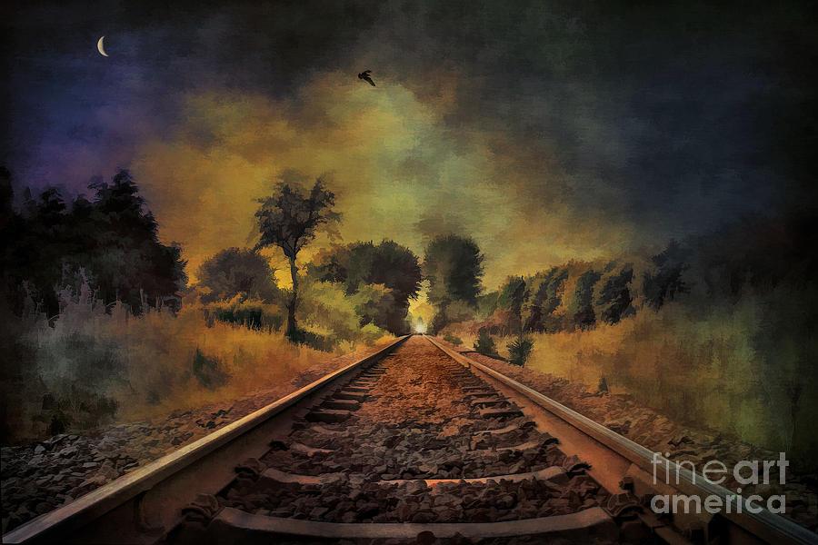 Landscape Painting -  Hope by Andrzej Szczerski