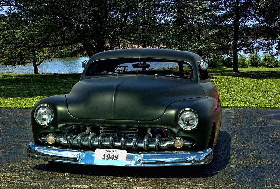 1949 Mercury Lead Sled Photograph By Tim Mccullough