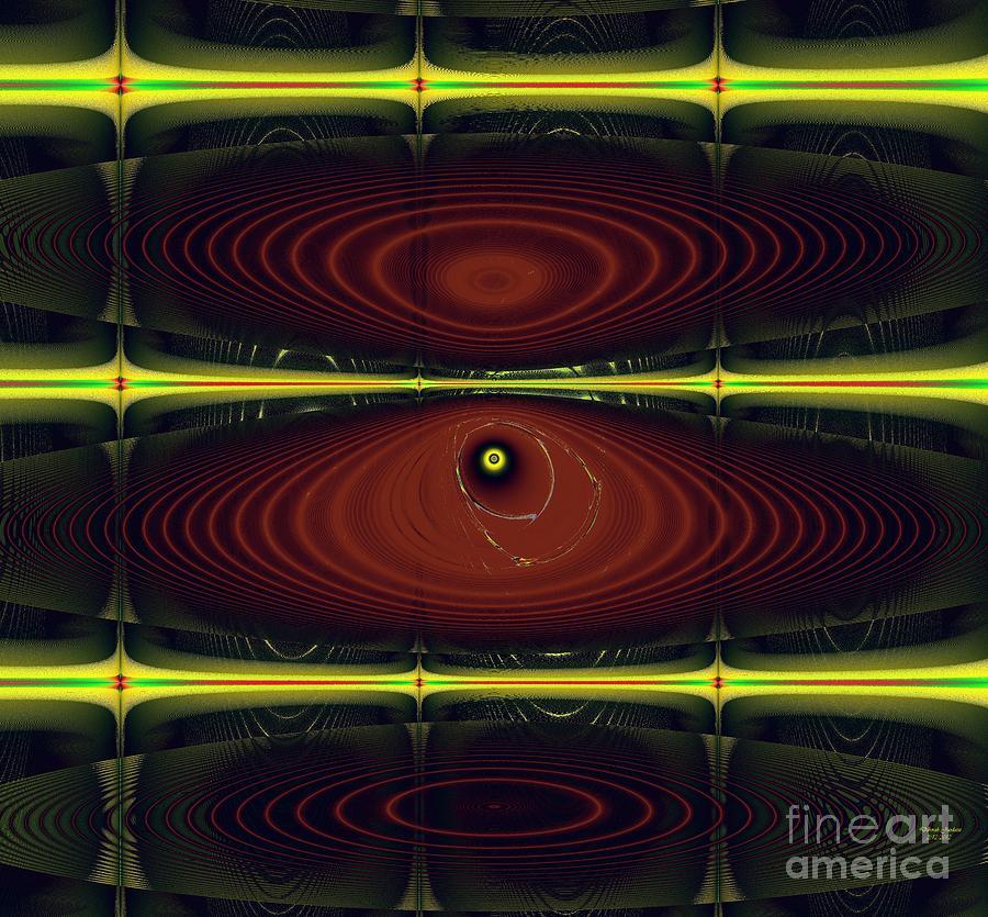 Americas Digital Art - 2012 Solar Eclipse by Deborah Juodaitis