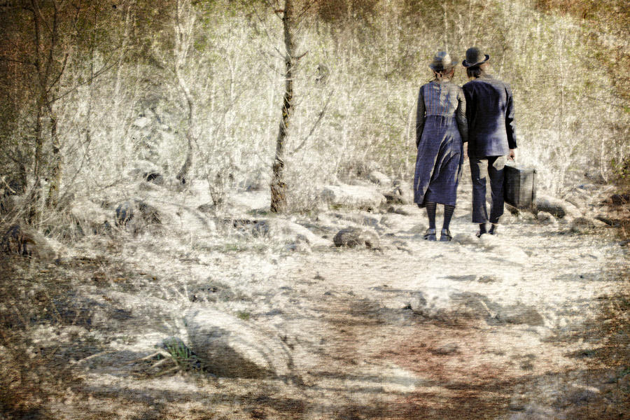 Pair Photograph - A Couple In The Woods by Joana Kruse