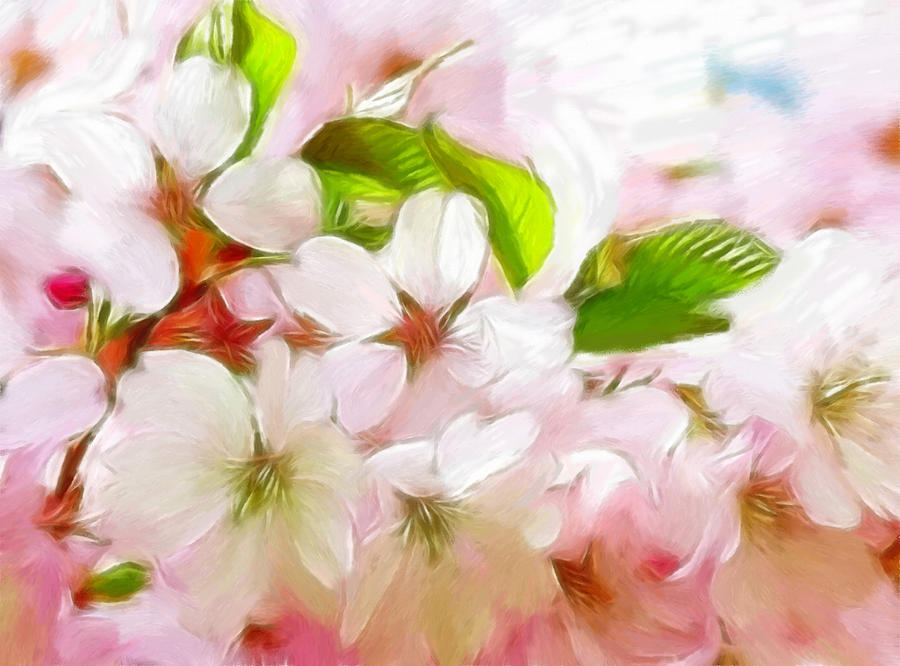 Japanese Pastel - A Day In Spring by Steve K