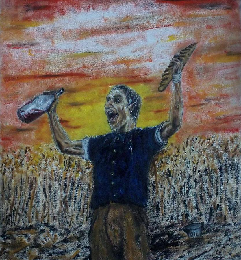 Glad Painting - A Glad Heart by John Fierro