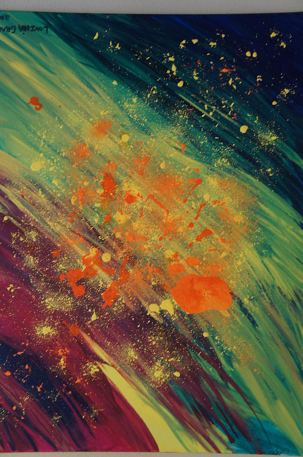 Bright Painting - A New Day by Kristine Bogdanovich