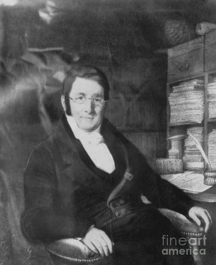 Swiss Photograph - A. P. De Candolle, Swiss Botanist by Science Source