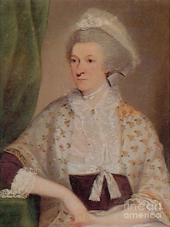 Painting Photograph - Abigail Adams by Photo Researchers