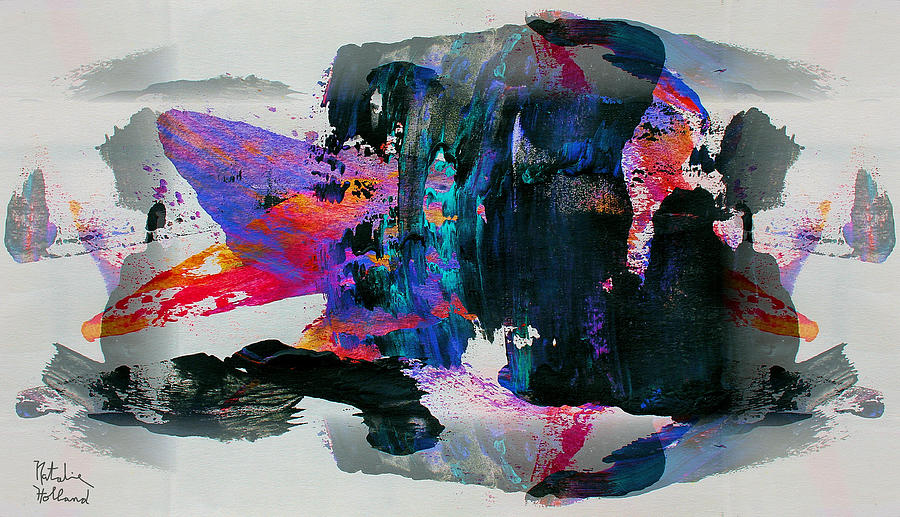 Abstract Painting - Abstract 4 by Natalie Holland