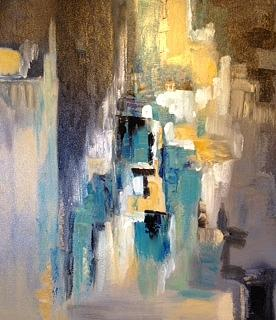After The Rain Painting by Lydia Farquhar