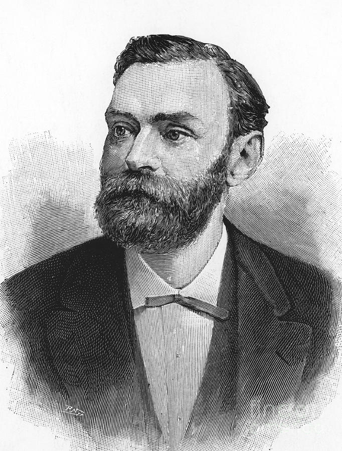 Science Photograph - Alfred Nobel, Swedish Chemist by Science Source