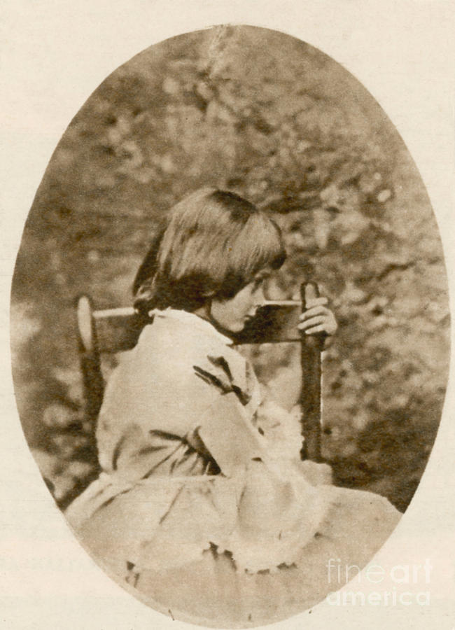 Historic Photograph - Alice Liddell, Alices Adventures by Science Source