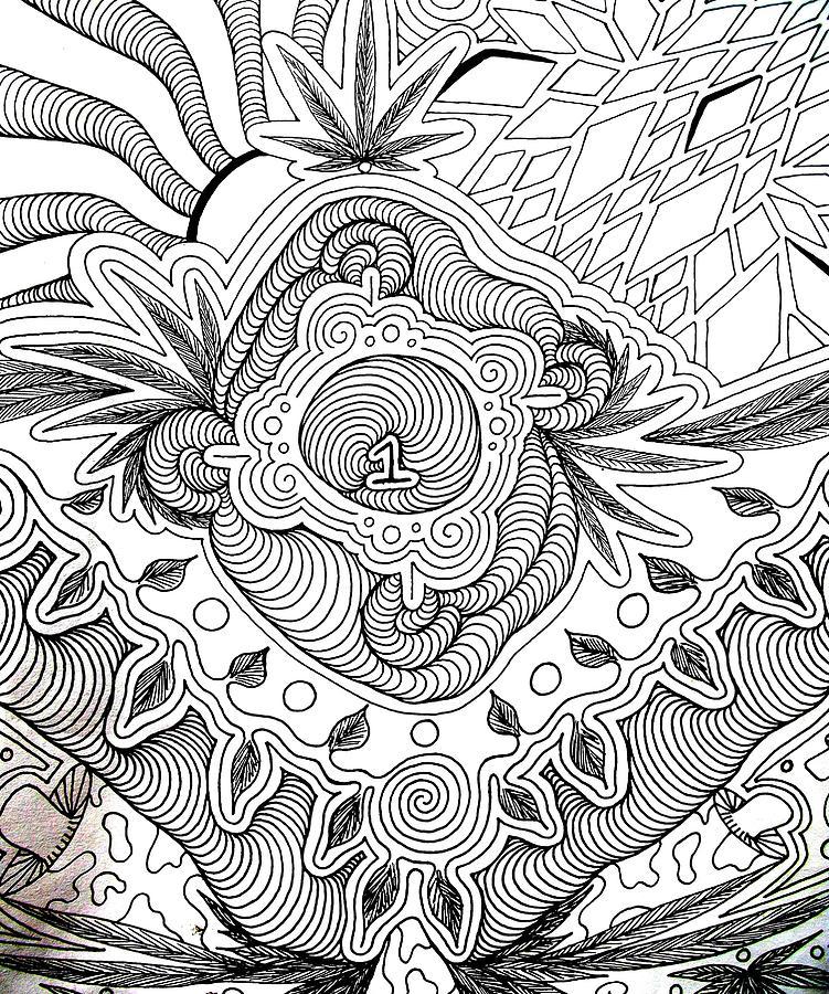 Drawing Drawing - 1 by Andrew Padula