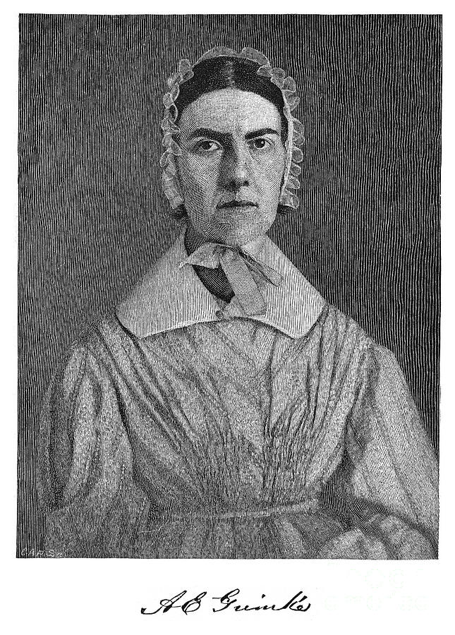 19th Century Photograph - Angelina Emily Grimke by Granger