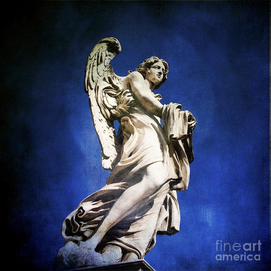 Angel Photograph - Angelo by Bernard Jaubert