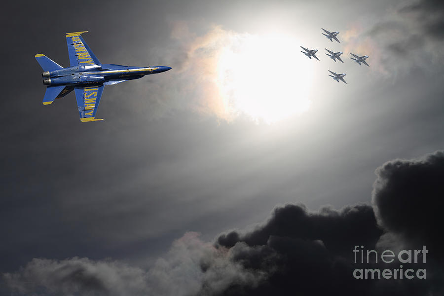 Transportation Photograph - Angels In The Sky by Wingsdomain Art and Photography