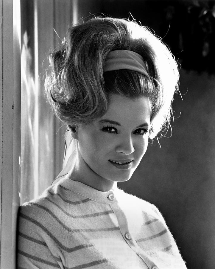 1960s Hairstyles Photograph - Angie Dickinson, Ca. 1966 by Everett