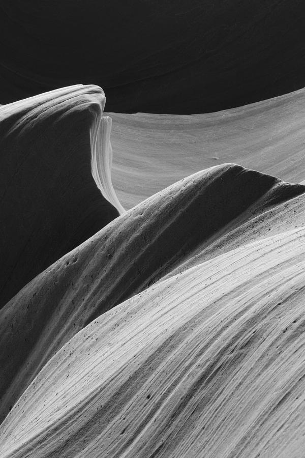 Antelope Canyon Desert Abstract by Mike Irwin