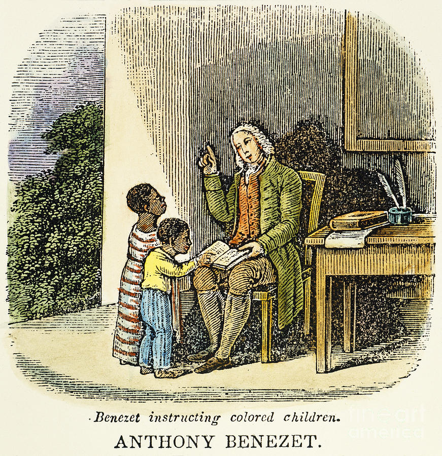 18th Century Photograph - Anthony Benezet (1713-1784) by Granger
