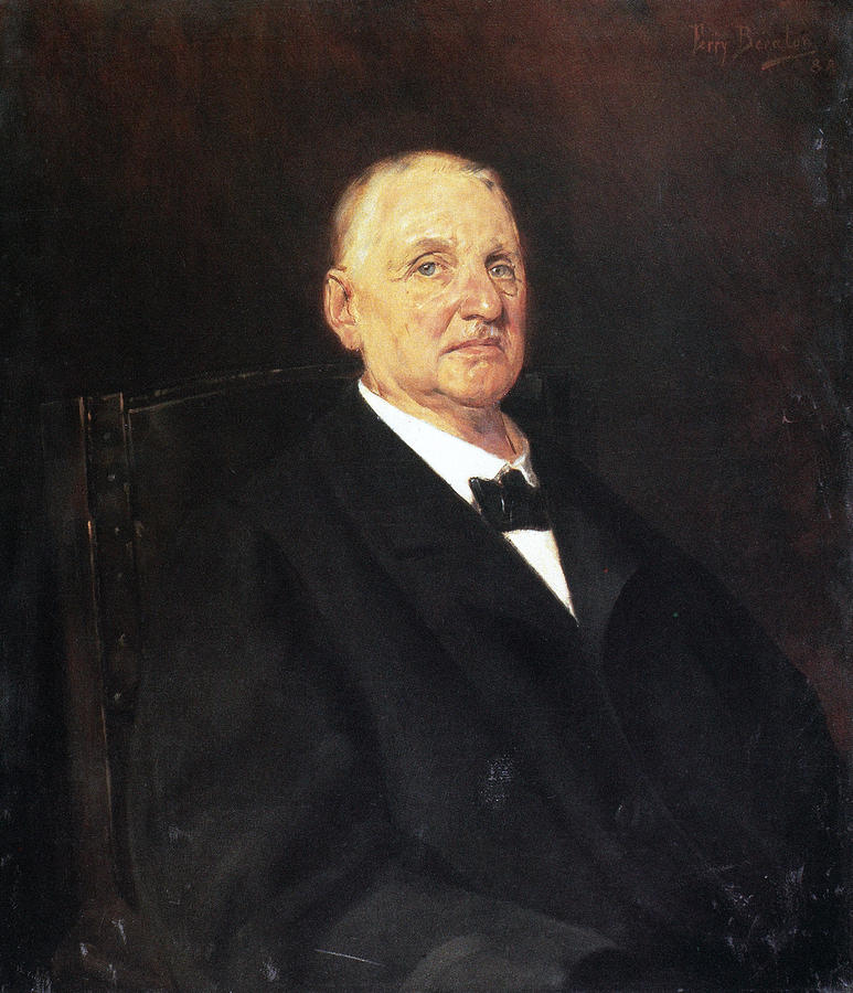1888 Photograph - Anton Bruckner (1824-1896) by Granger