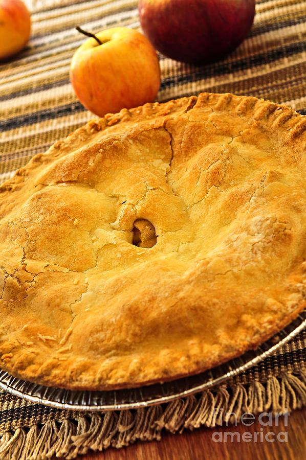 Pie Photograph - Apple Pie by Elena Elisseeva