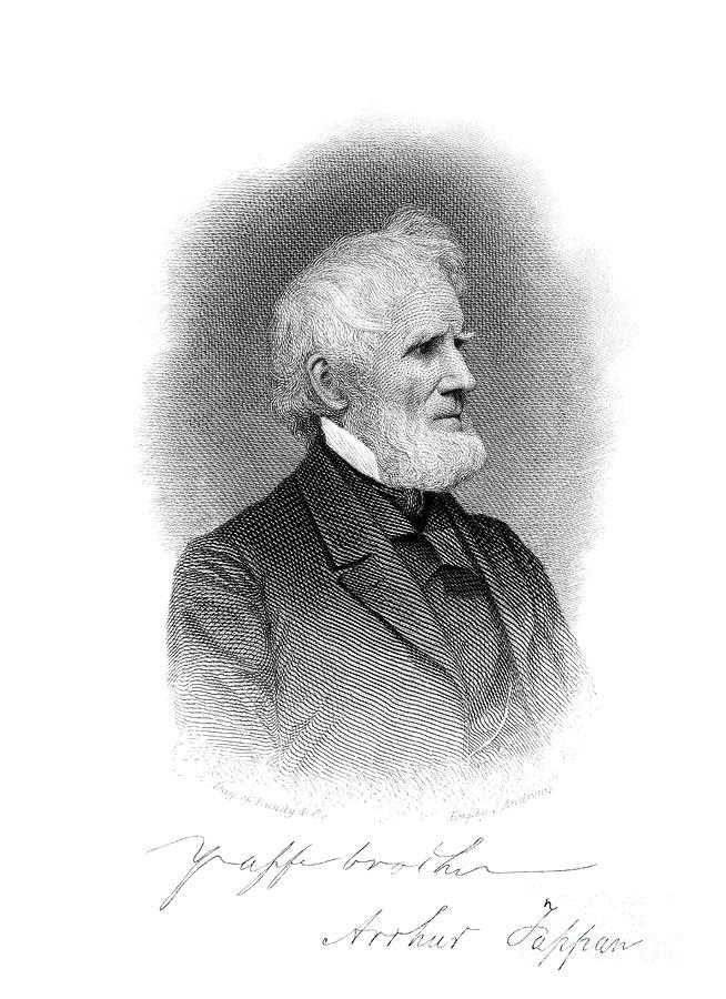 1860s Photograph - Arthur Tappan (1786-1865) by Granger