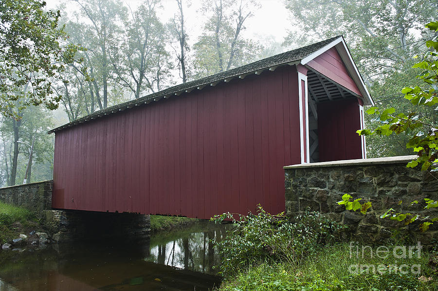 Ashland Photograph - Ashland Covered Bridge by John Greim