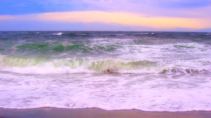 Sea Photograph - At The Seashore by Marilyn Wilson